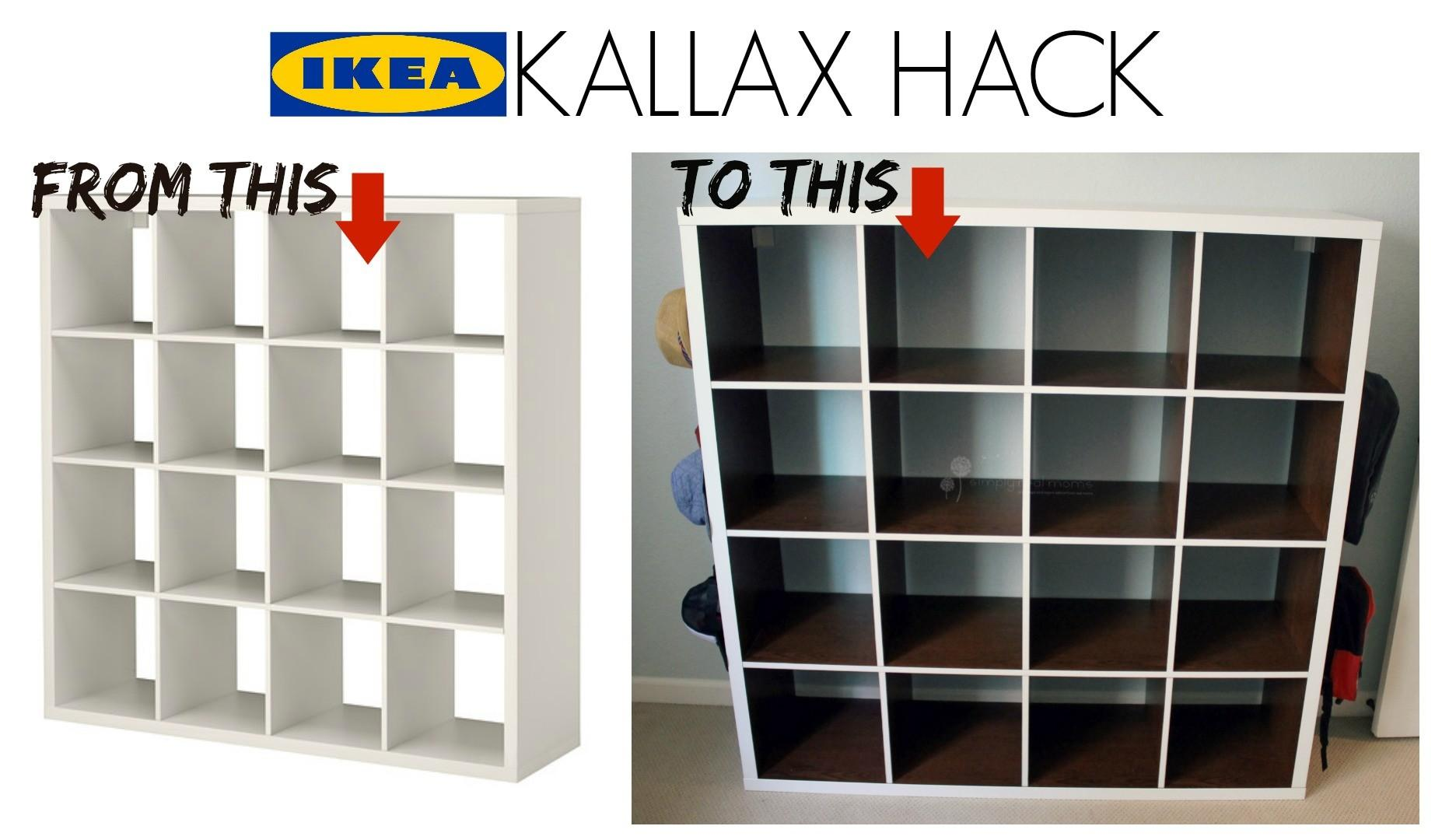 Kallax Hack Simply Real Moms