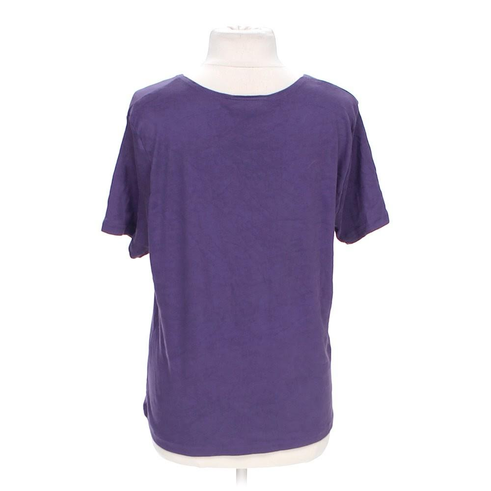 Karen Scott Simple Tee Consignment