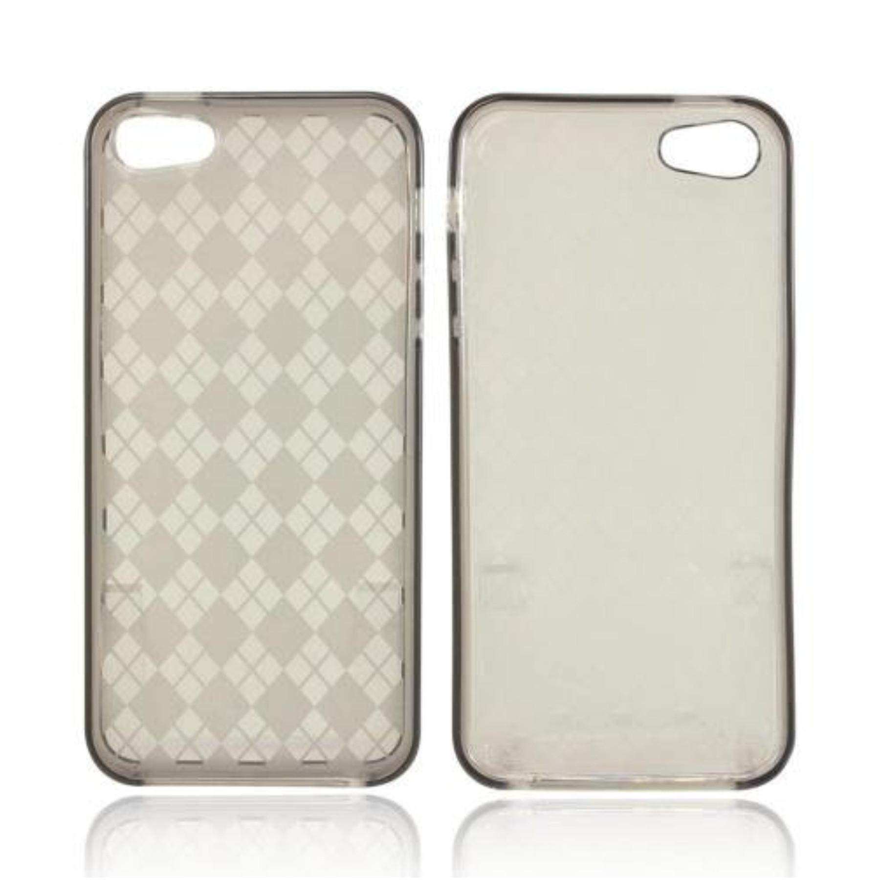 Karendeals Argyle Smoke Apple Iphone Tpu Gel Case