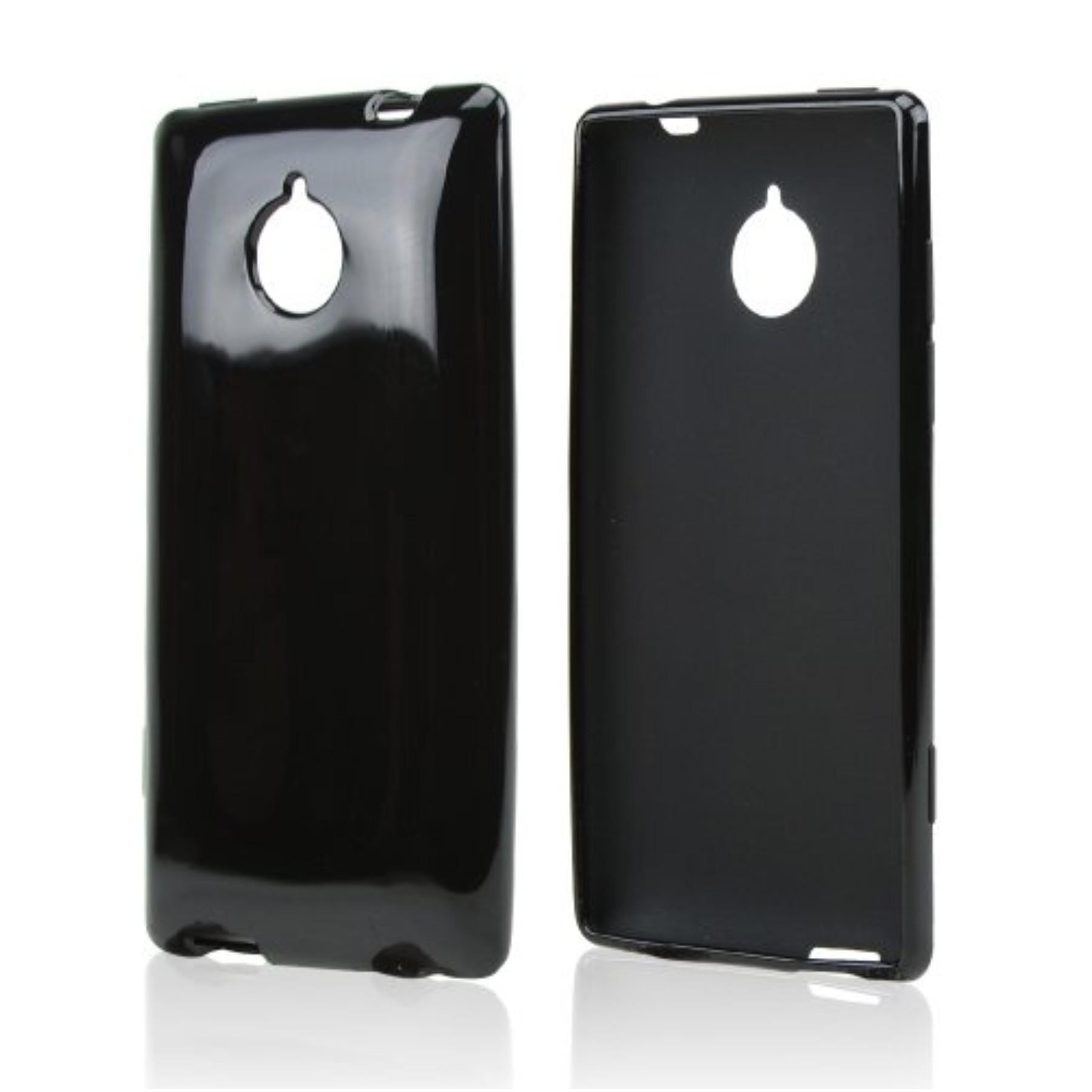 Karendeals Black Htc 8xt Tpu Gel Case Cover Anti Slip
