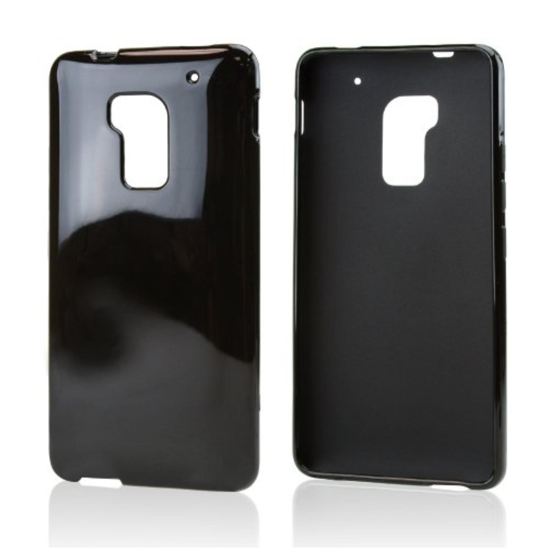 Karendeals Black Htc One Max Tpu Gel Case Cover Anti Slip