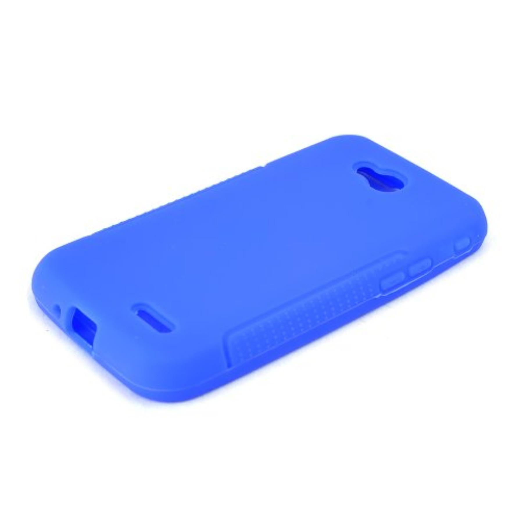 Karendeals Blue L90 Silicone Case Cover Anti Slip