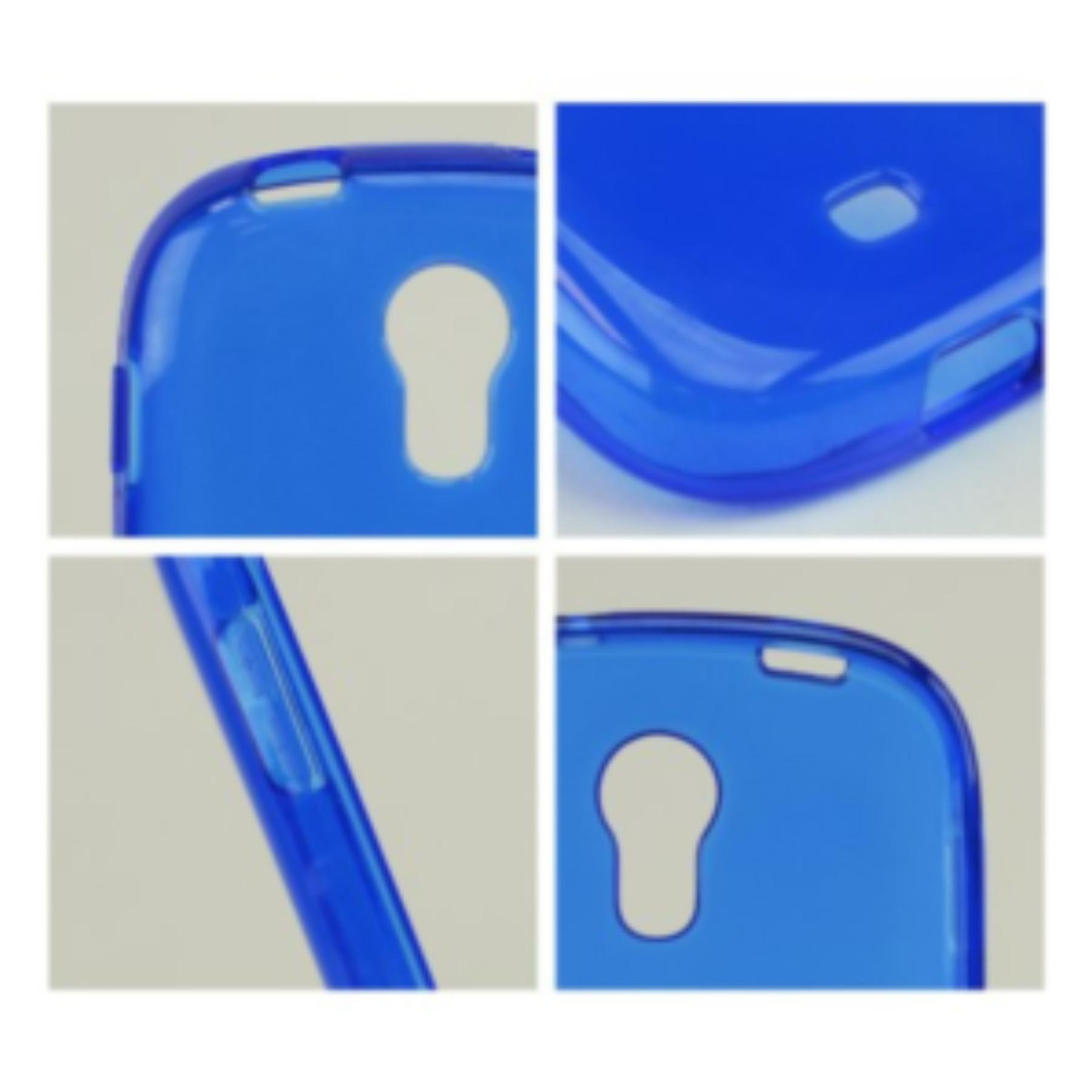 Karendeals Blue Samsung Galaxy Light Tpu Gel Case Cover