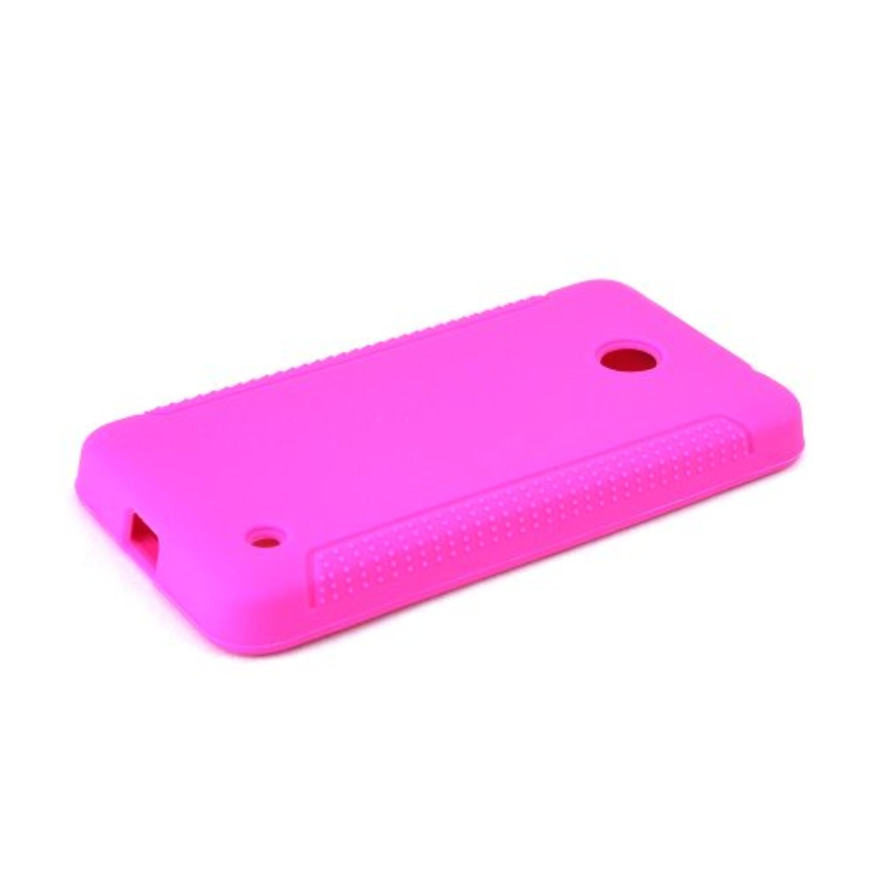Karendeals Hot Pink Nokia Lumia 635 Silicone Case Cover