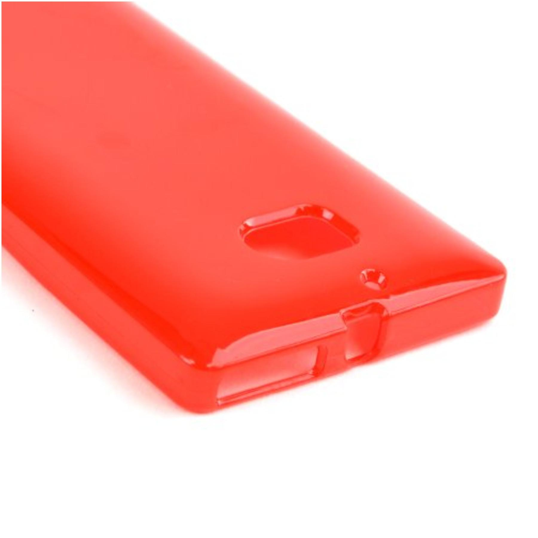 Karendeals Red Nokia Lumia Icon Tpu Gel Case Cover Anti