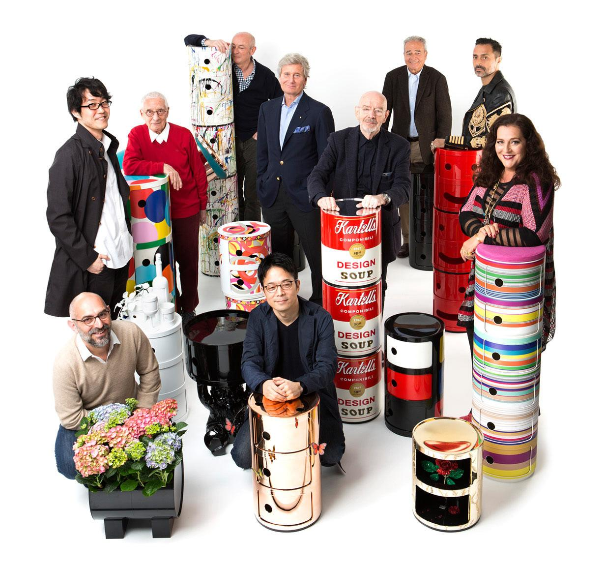 Kartell Celebrates 50th Year Componibili