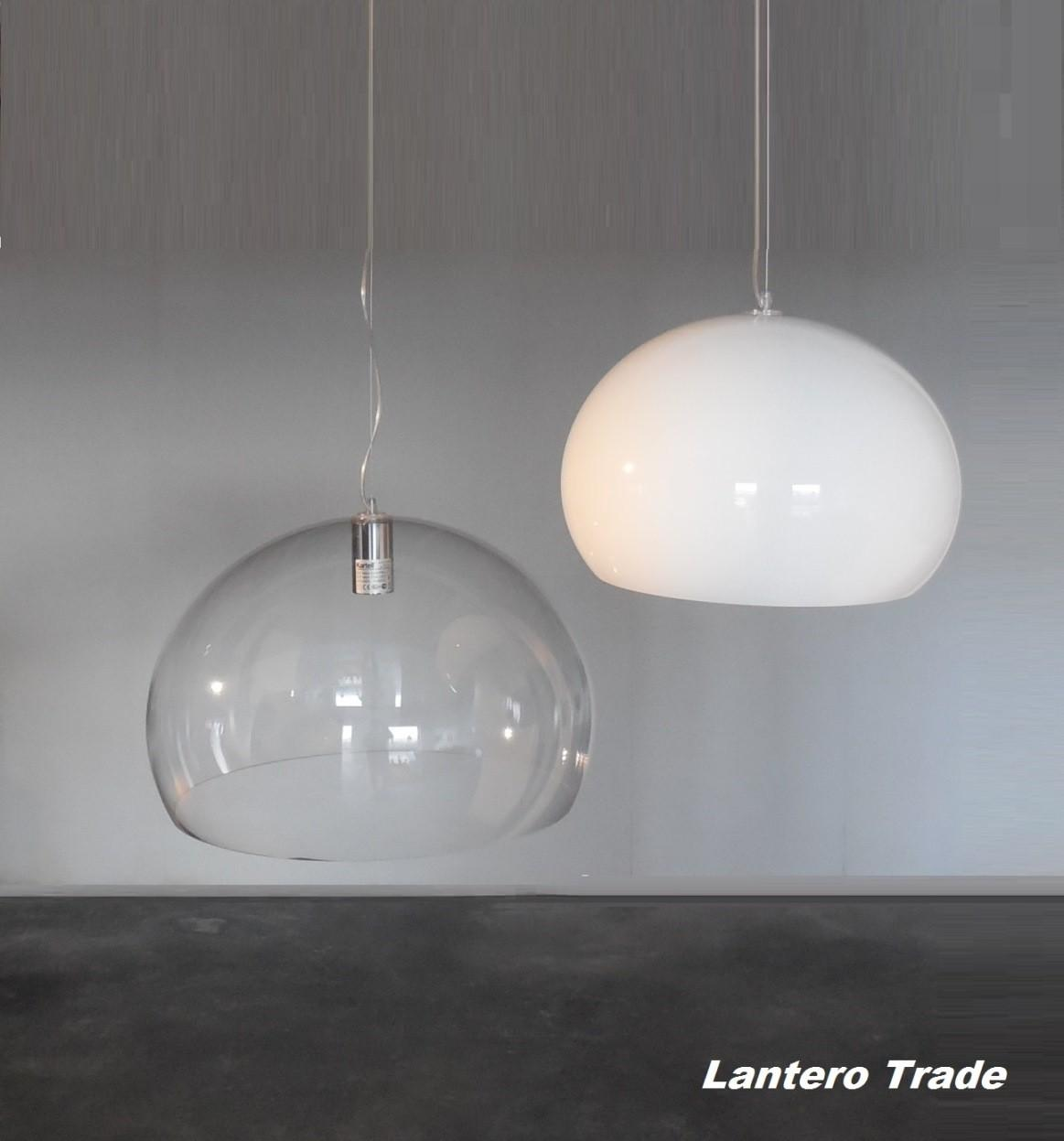 Kartell Suspension Lamp Led Fly Ceiling Lamps