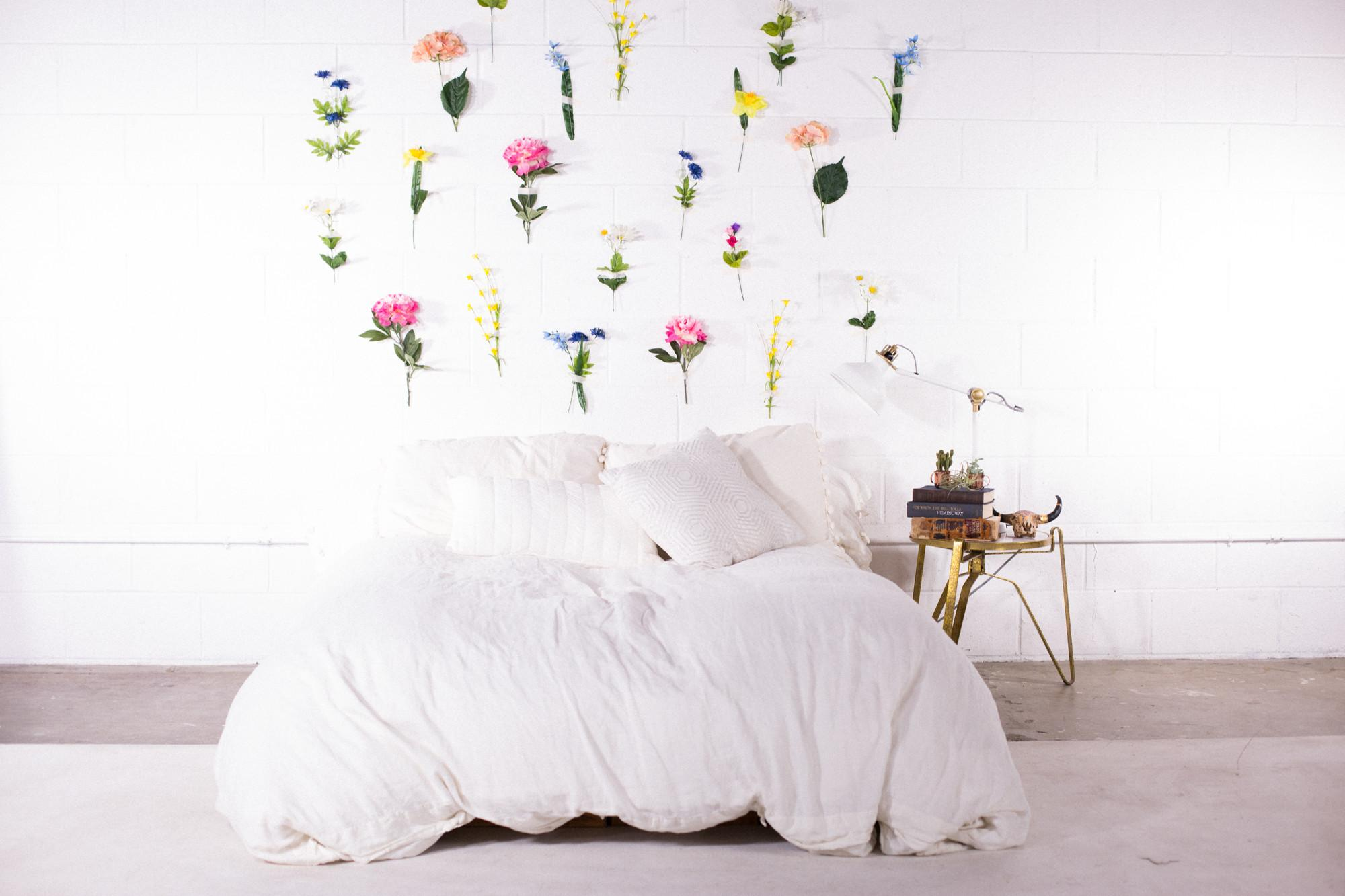 Kate Diy Flower Wall