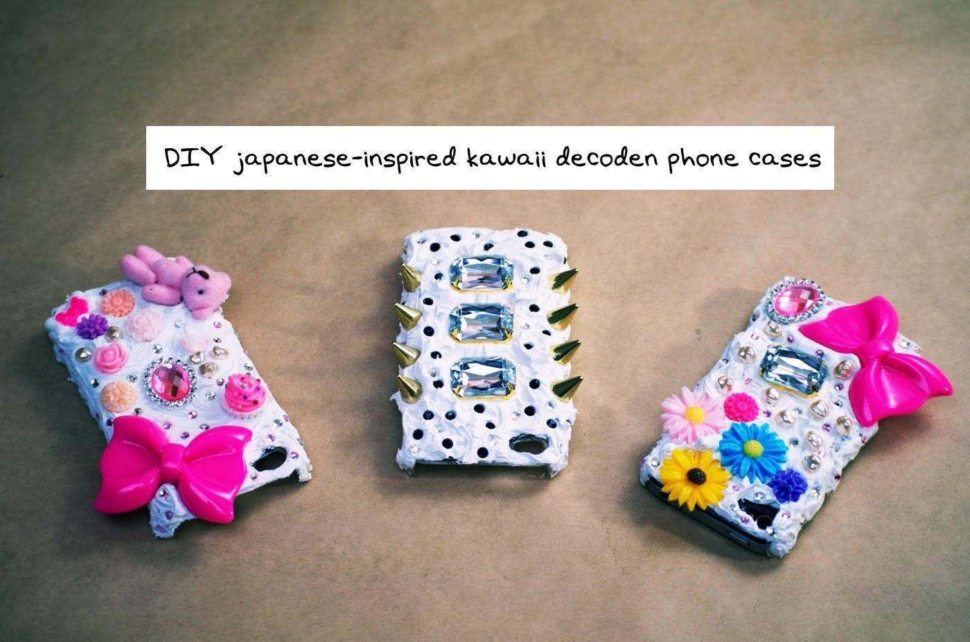 Kate Diy Japanese Style Decoden Phone Case Tutorial