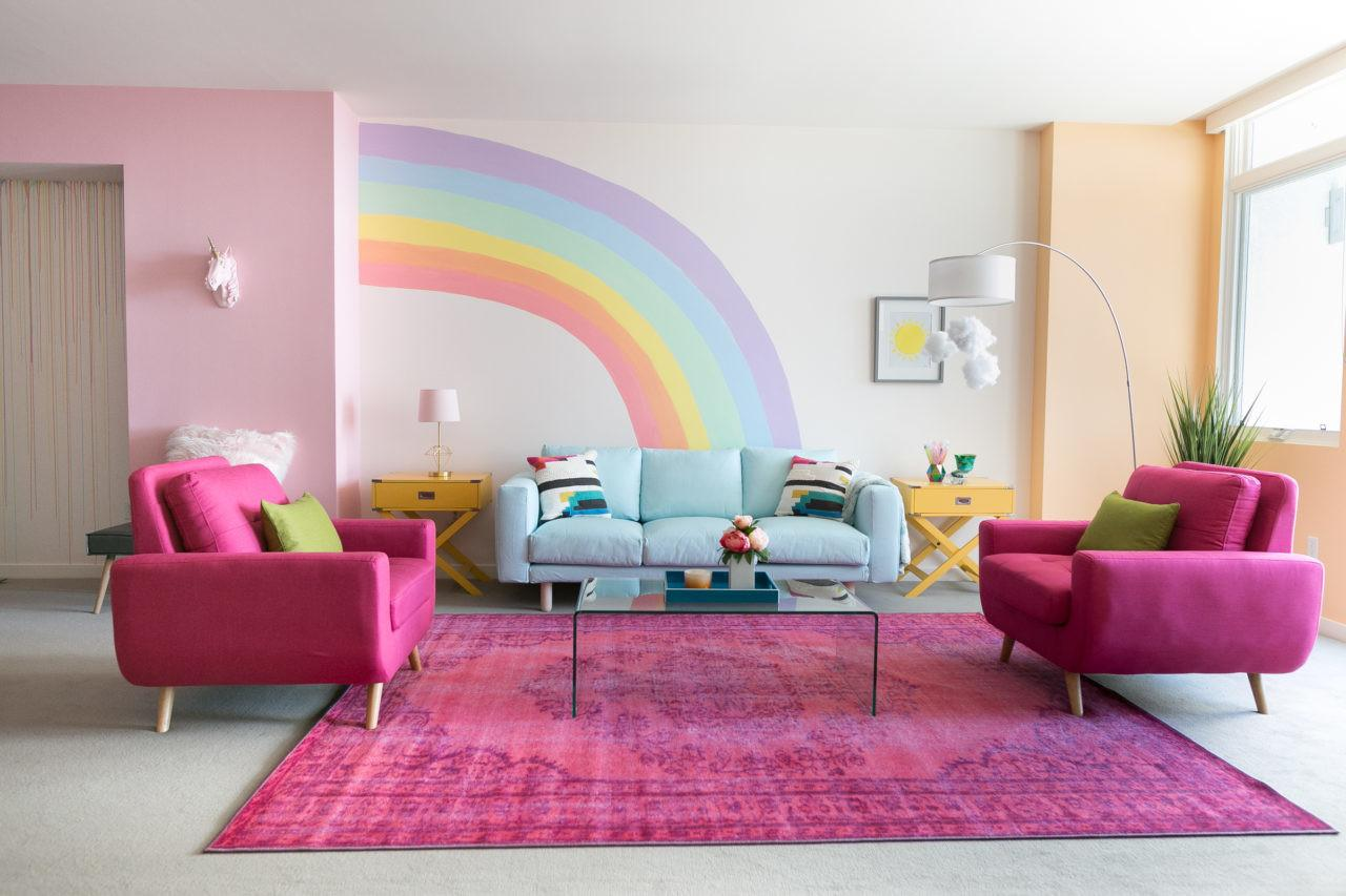 Kate Rainbow Mermaid Unicorn Apartment Makeover