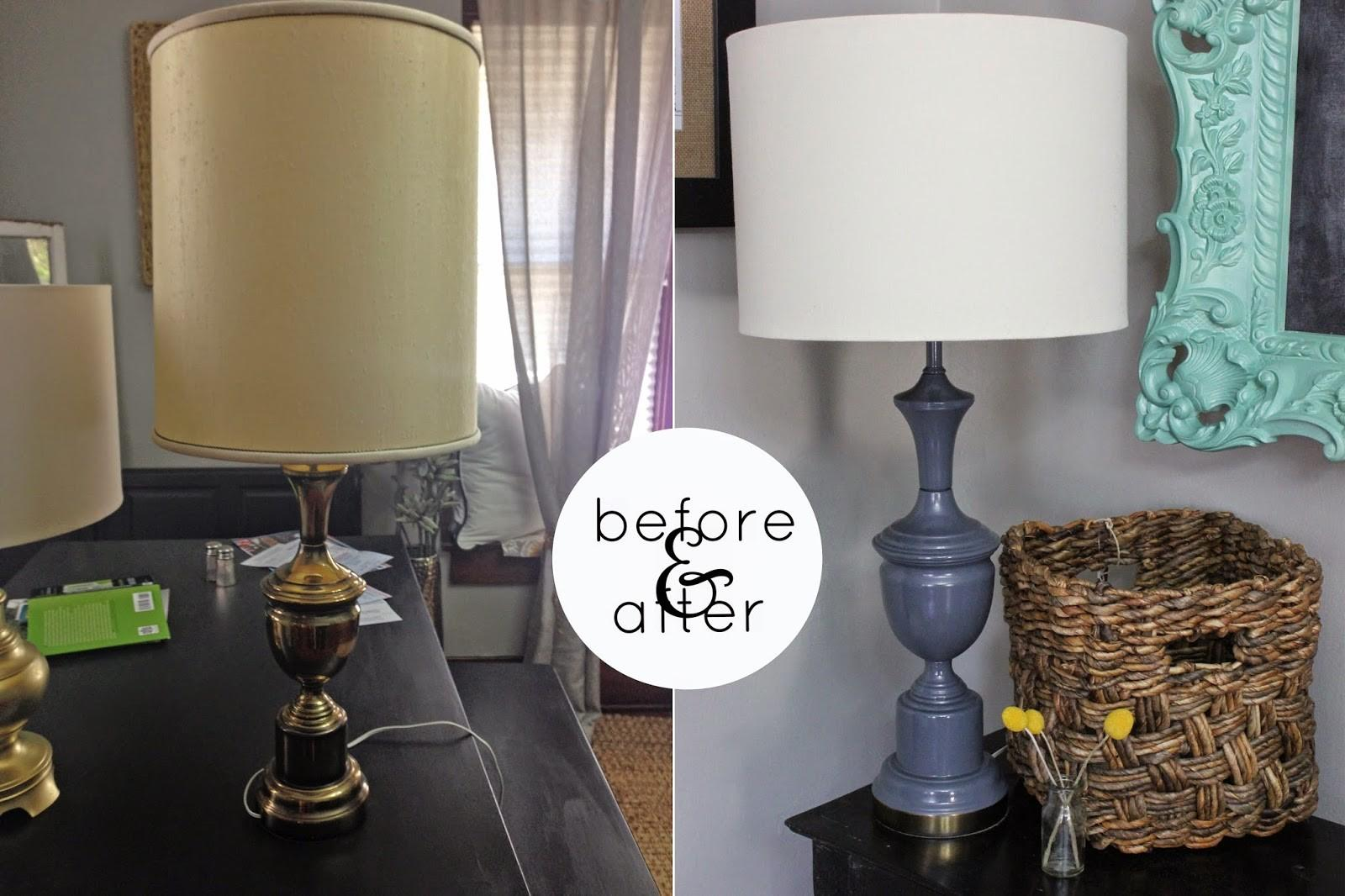 Katie Kansas Diy Spray Paint Lamp