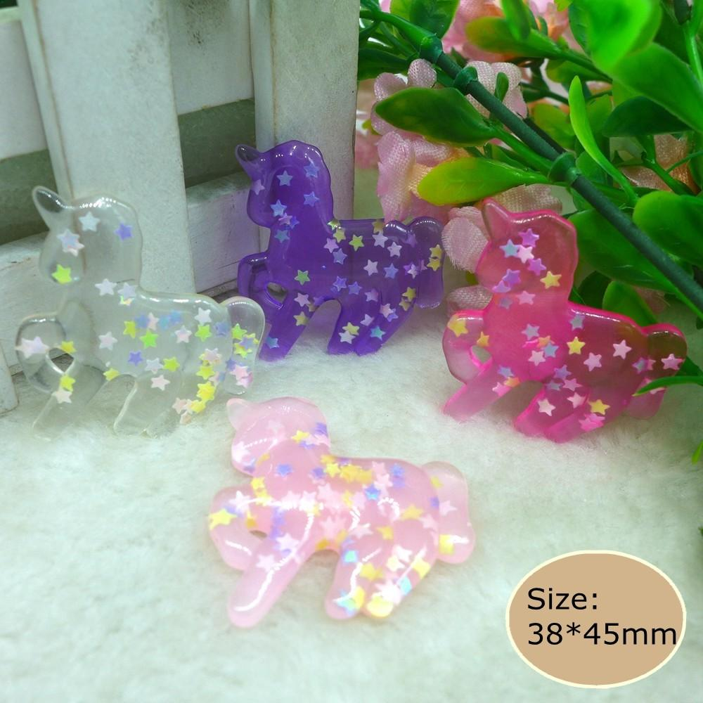 Kawaii Unicorn Resin Flat Back Cabochons Phone