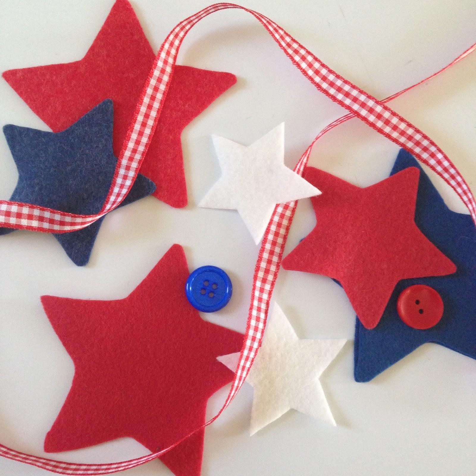 Kbb Crafts Stitches Fourth July Napkin Ties