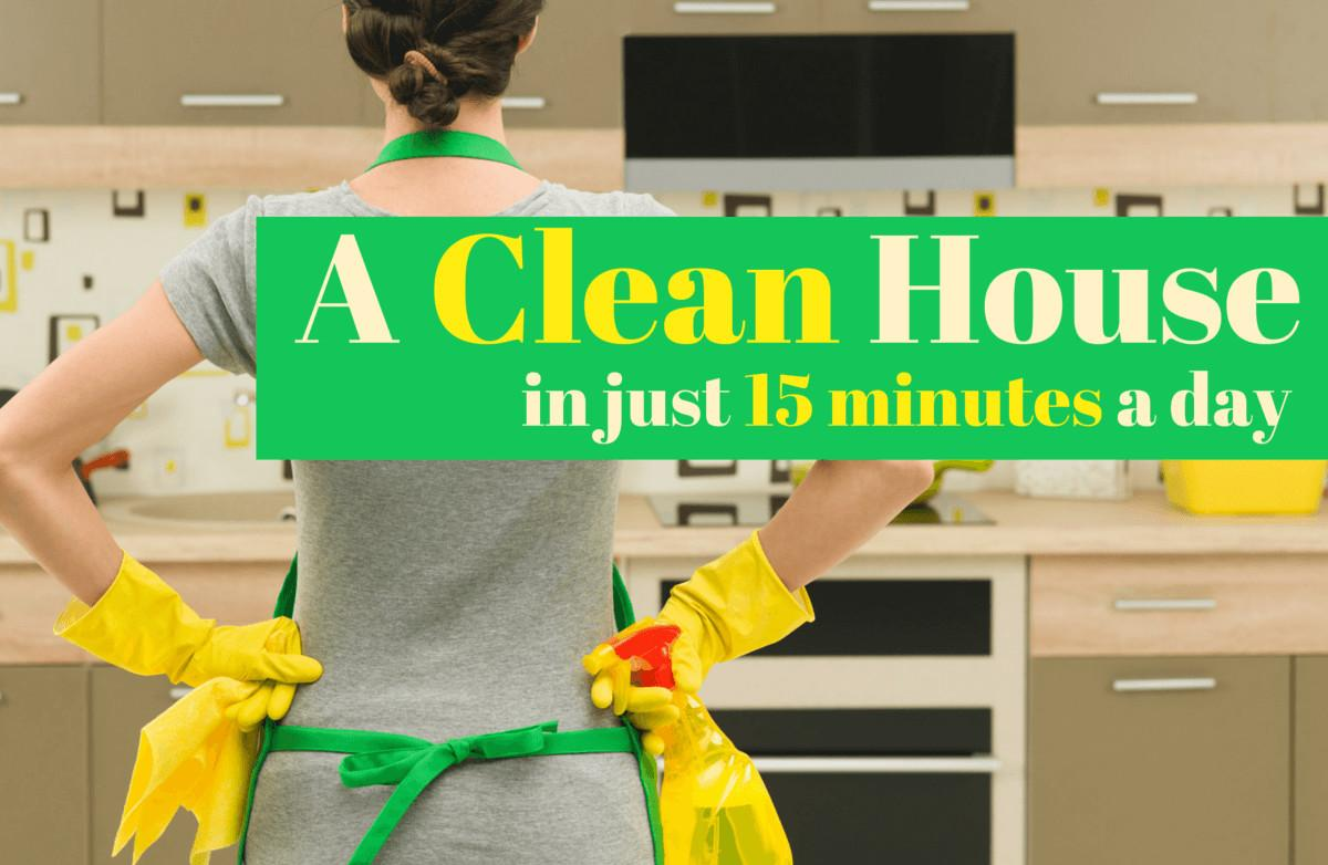Keep Your House Clean Minutes Day