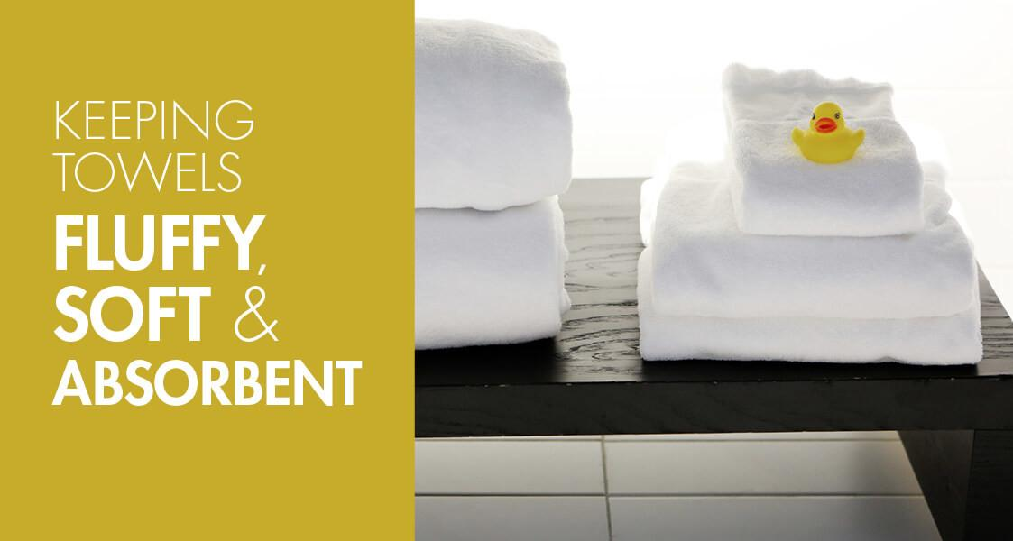 Keeping Towels Fluffy Soft Absorbent