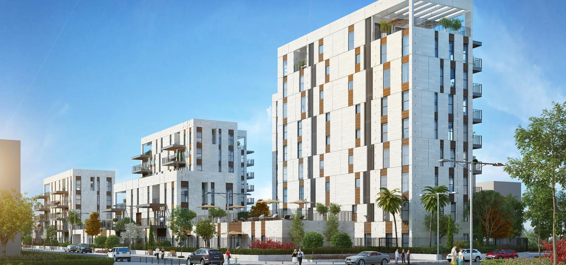Kfar Yona Residential Complex Architects