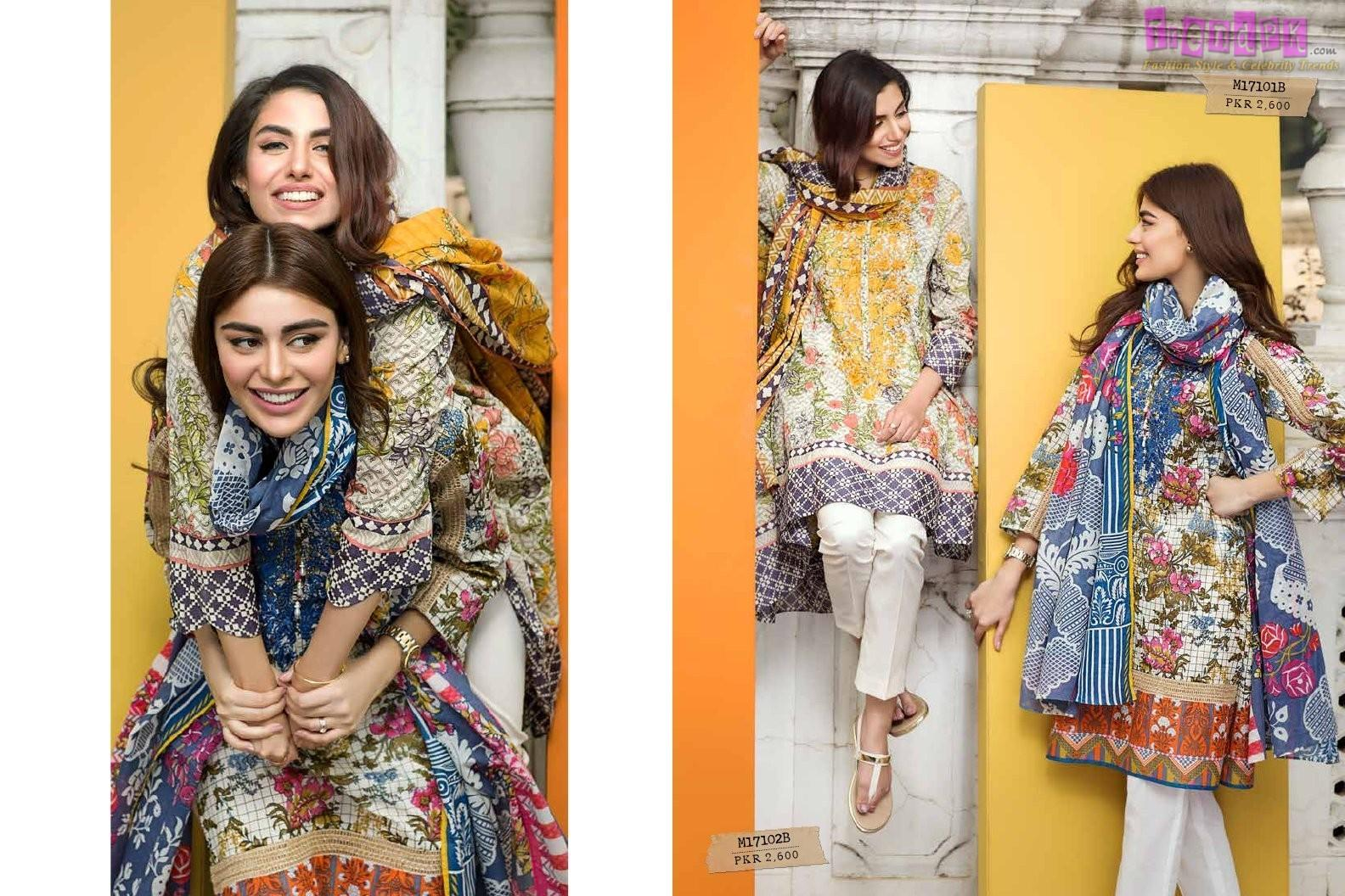 Khaadi Spring Summer Lawn Collection 2017 Vol