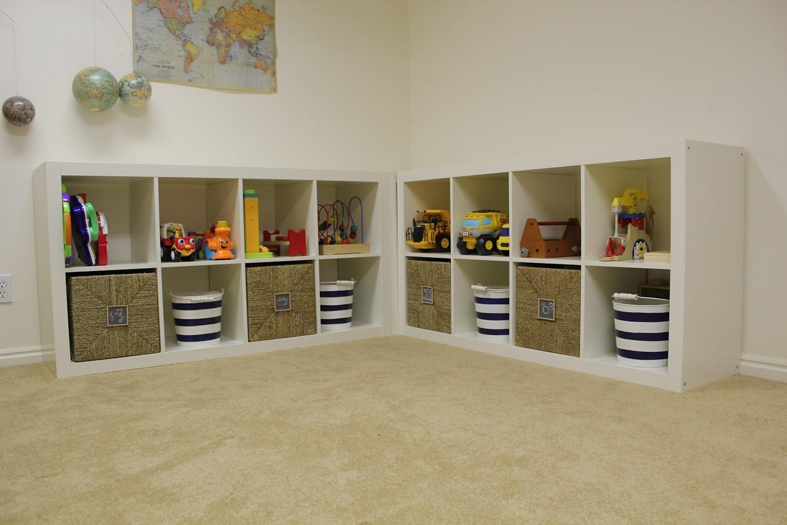 Kid Friendly Playroom Storage Ideas Could Implement
