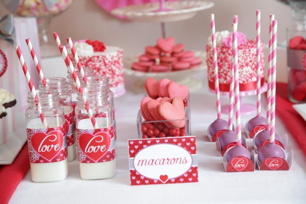 Kid Friendly Valentine Day Party
