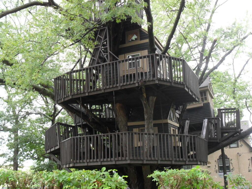 Kid Treehouses Taking Cool Whole New