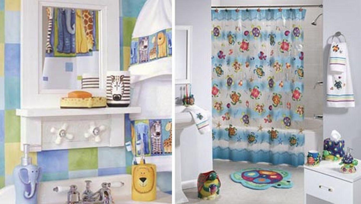 Kids Bathroom Cor Girls Boys Wall Decor
