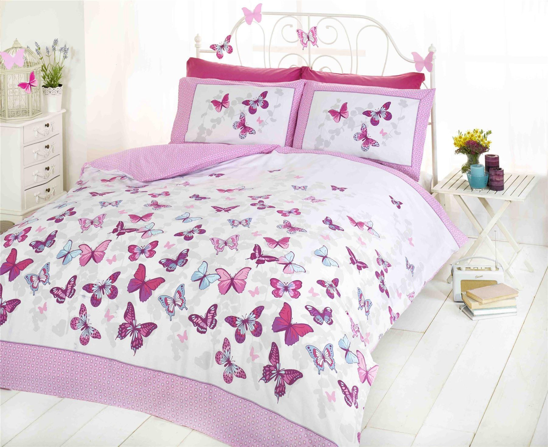 Kids Bed Design Beautiful Sample Butterfly Bedding