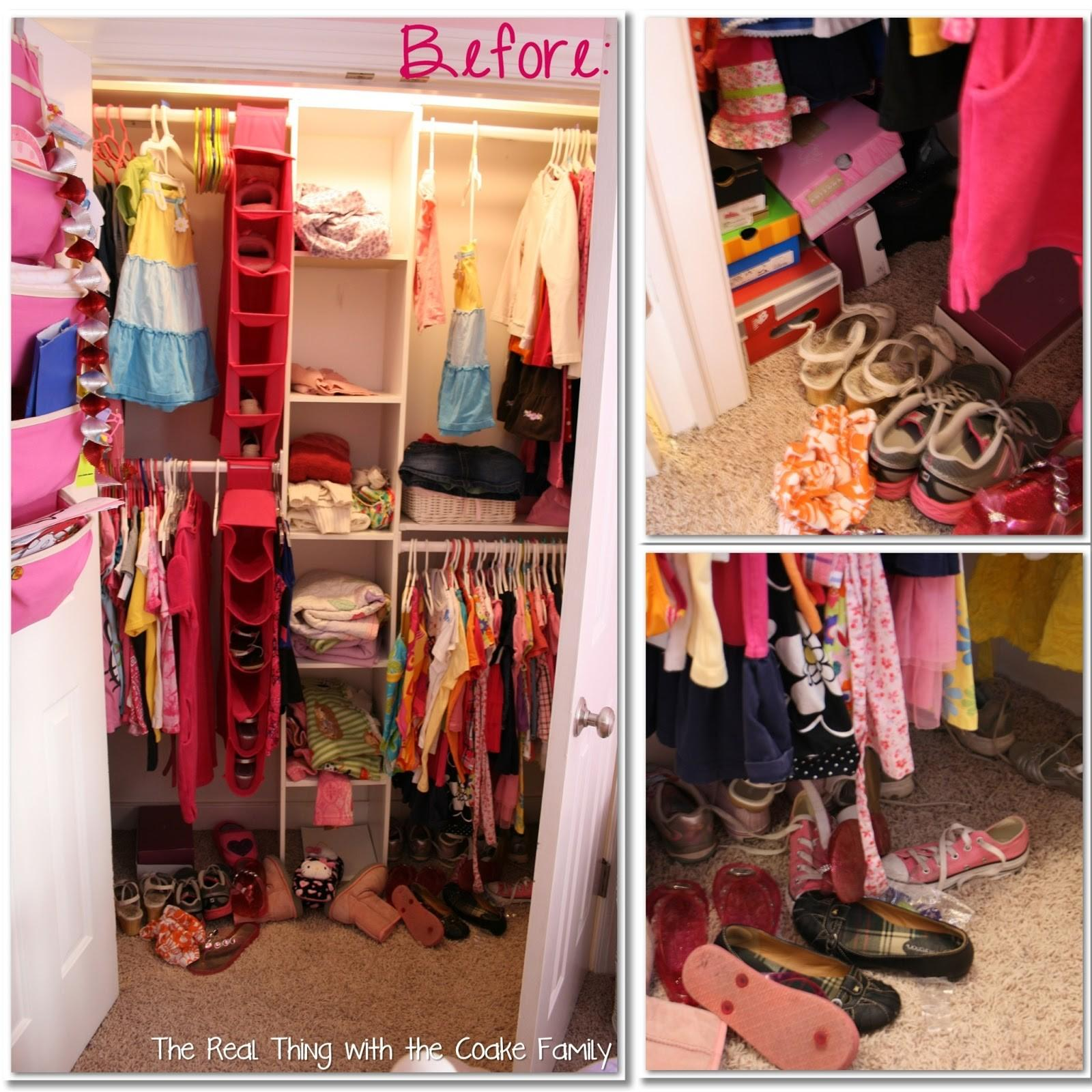 Kids Closet Organizing Ideas Real Thing