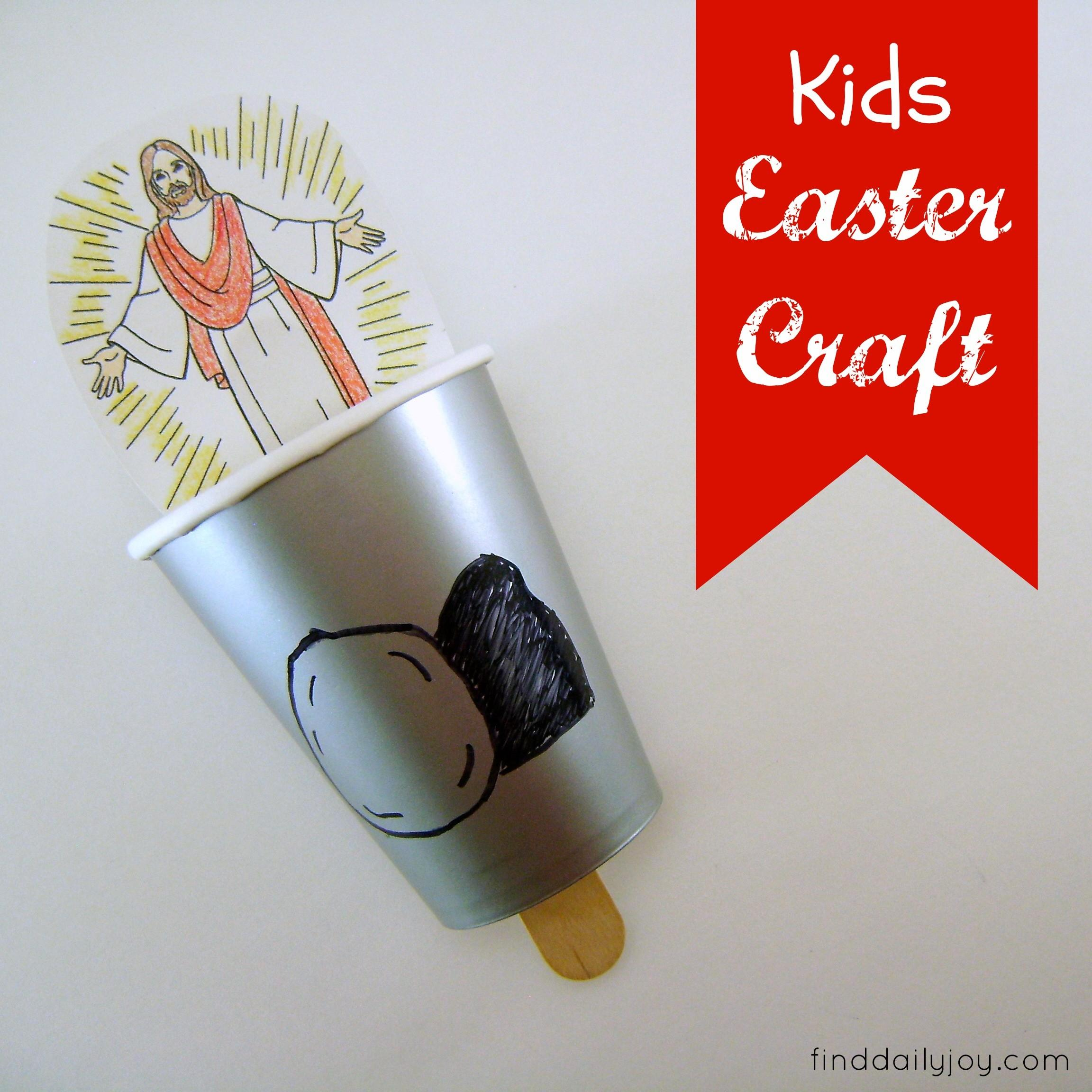 Kids Easter Craft Tutorial Find Daily Joy