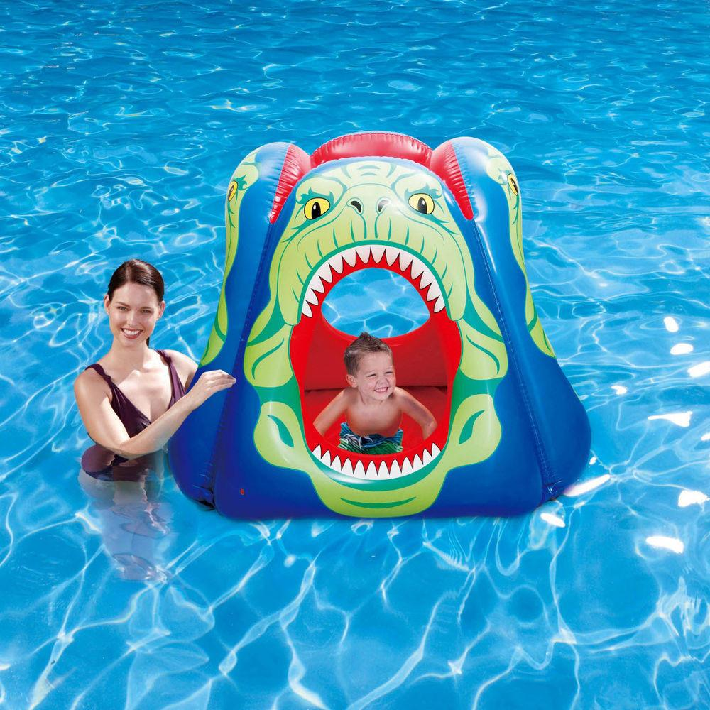 Kids Inflatable Piranha Swimming Pool Float Fun