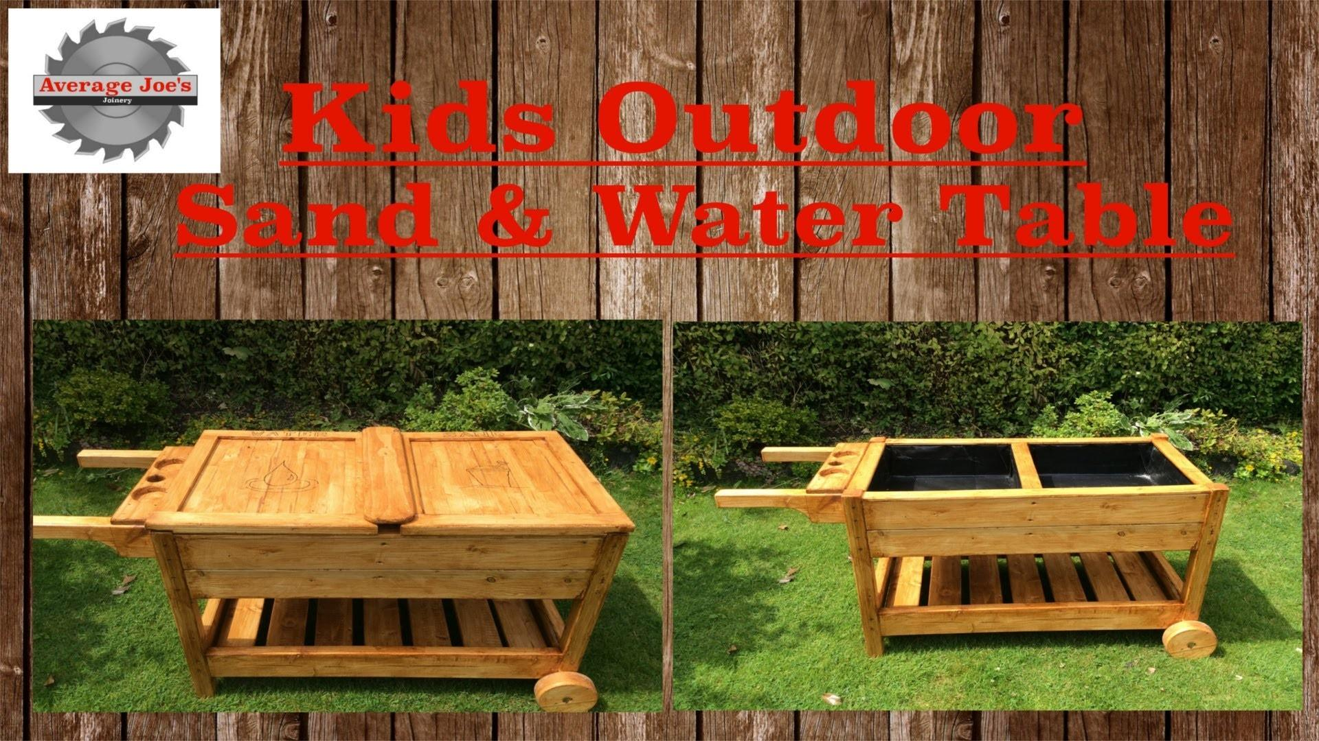 Kids Outdoor Sand Water Table