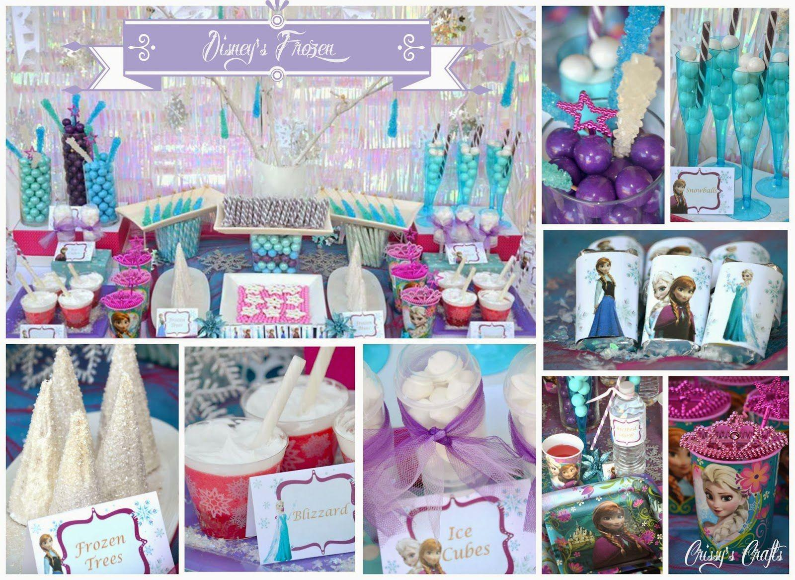 Kids Parties 2015 Birthday Party Ideas Frozen