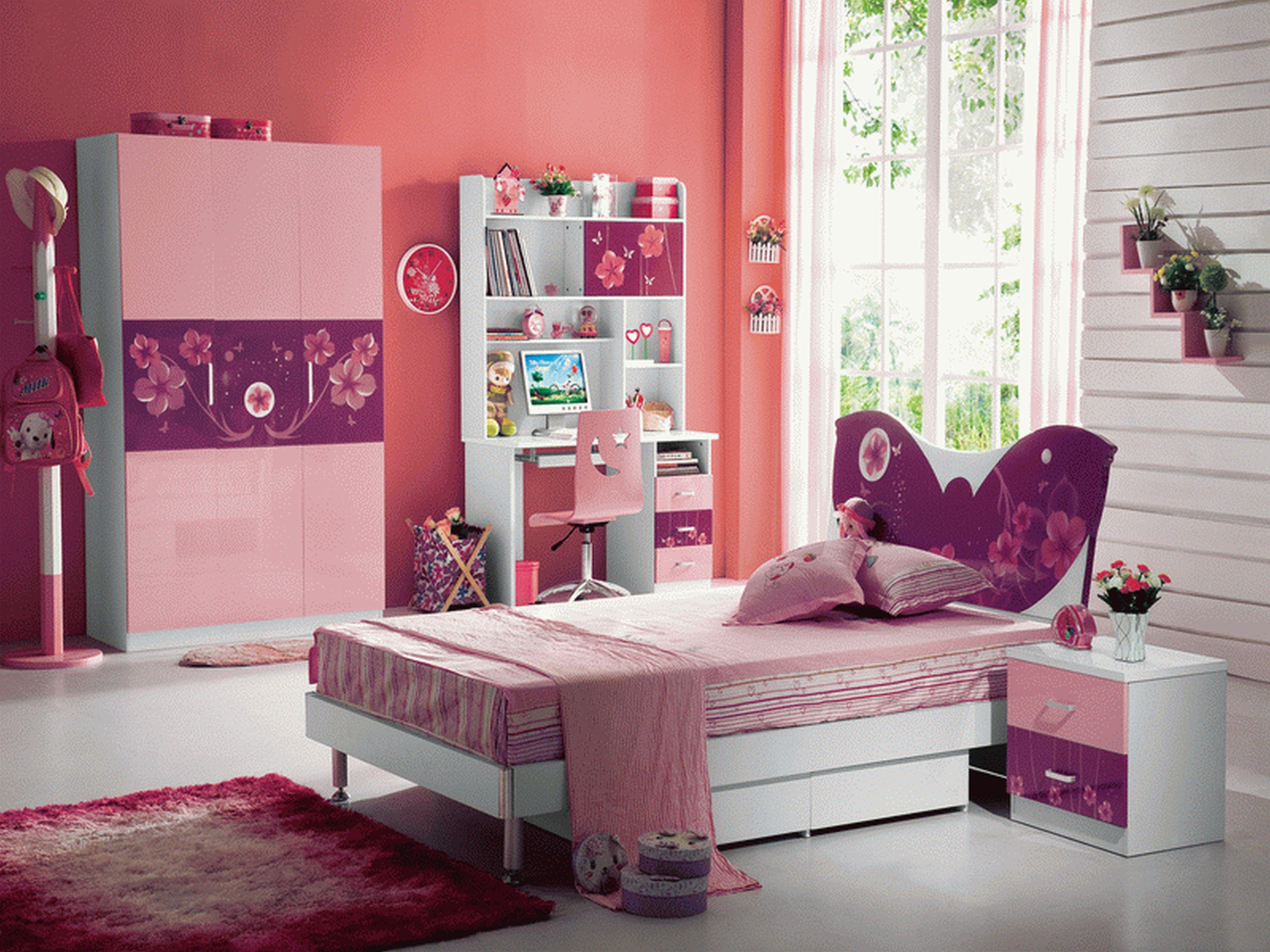 Kids Room Decor Cute Girl Color Ideas Bedroom