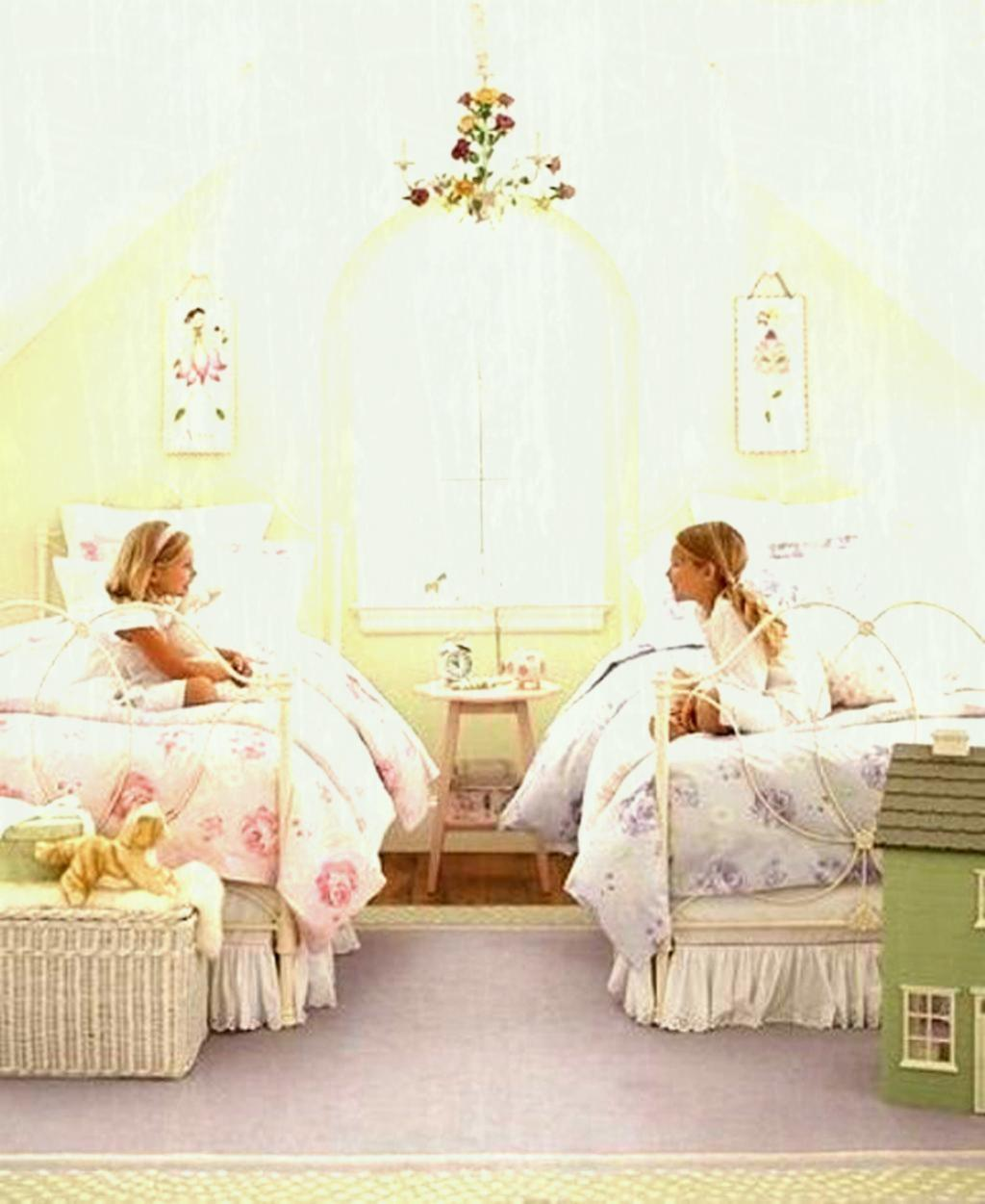Kids Room Shabby Chic Double Bedroom Ideas