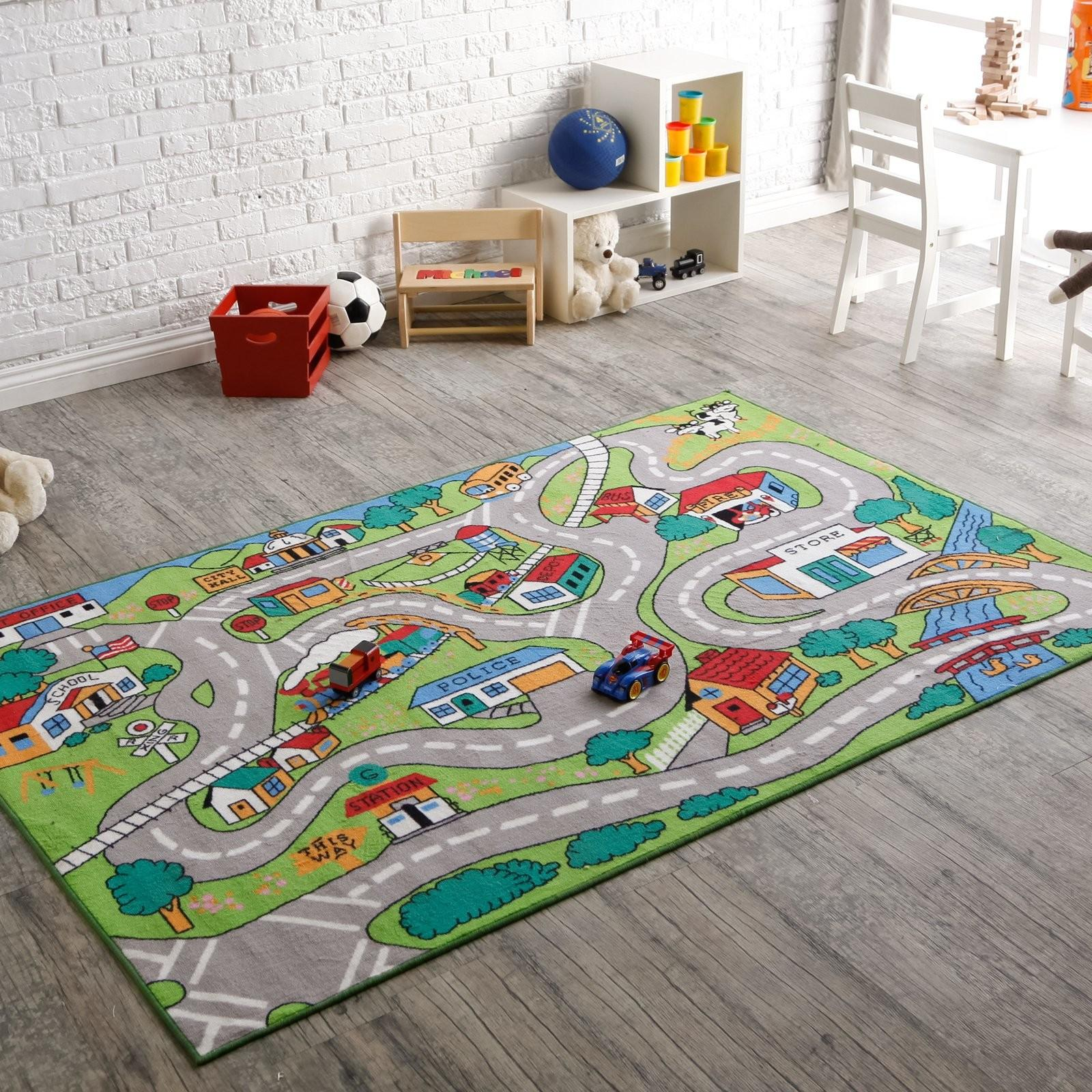 Kids Rugs Attractive Play Area Furniture