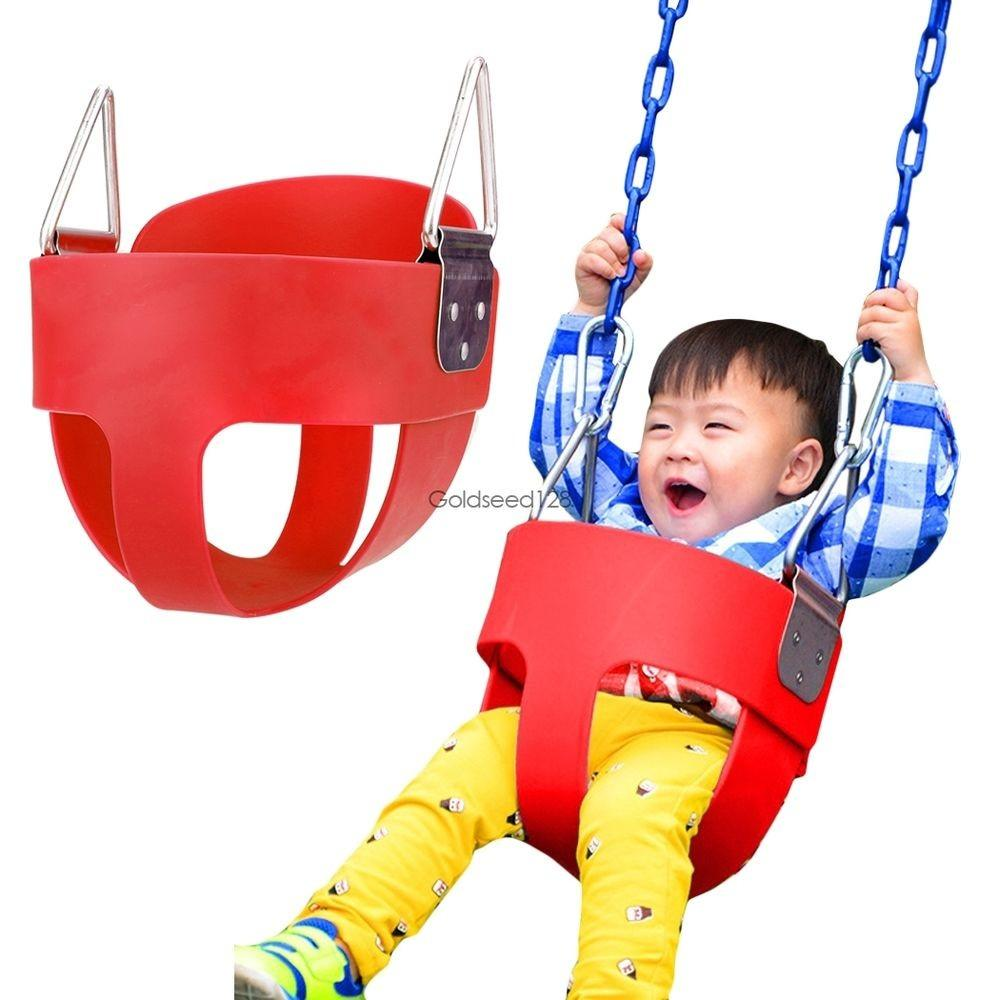 Kids Safe Bucket Swing Toddler Outdoor Baby Infant