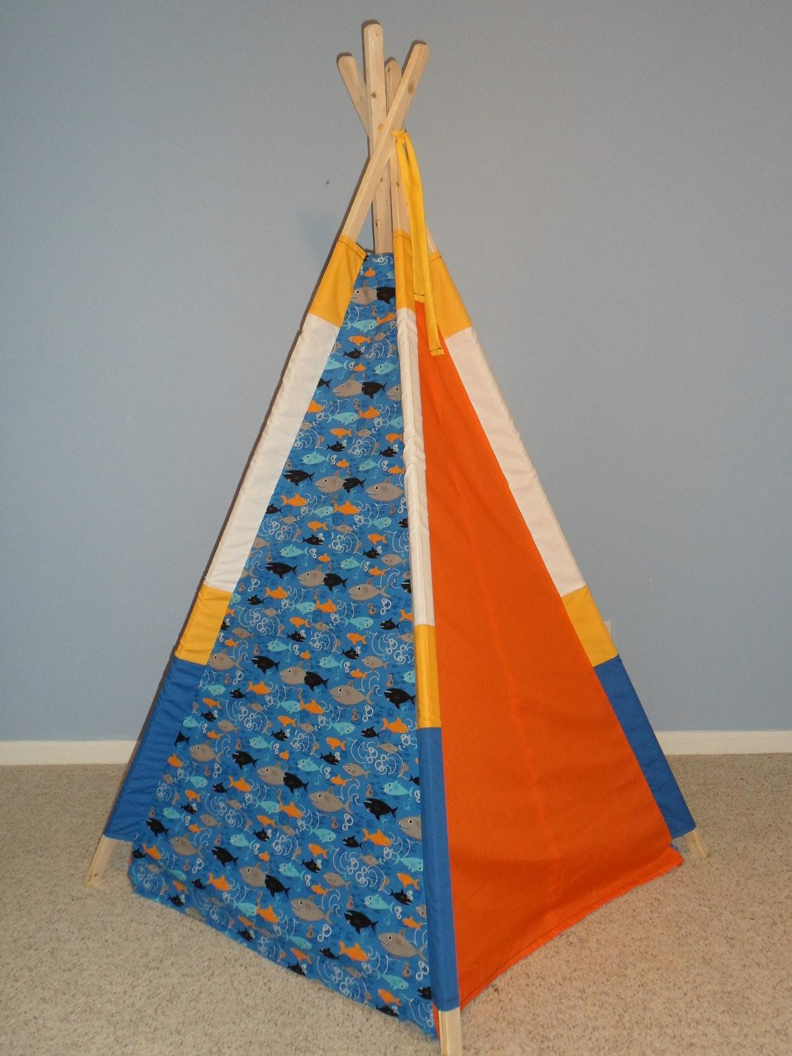 Kids Teepee Play Tent Tipi Indoor Childrens