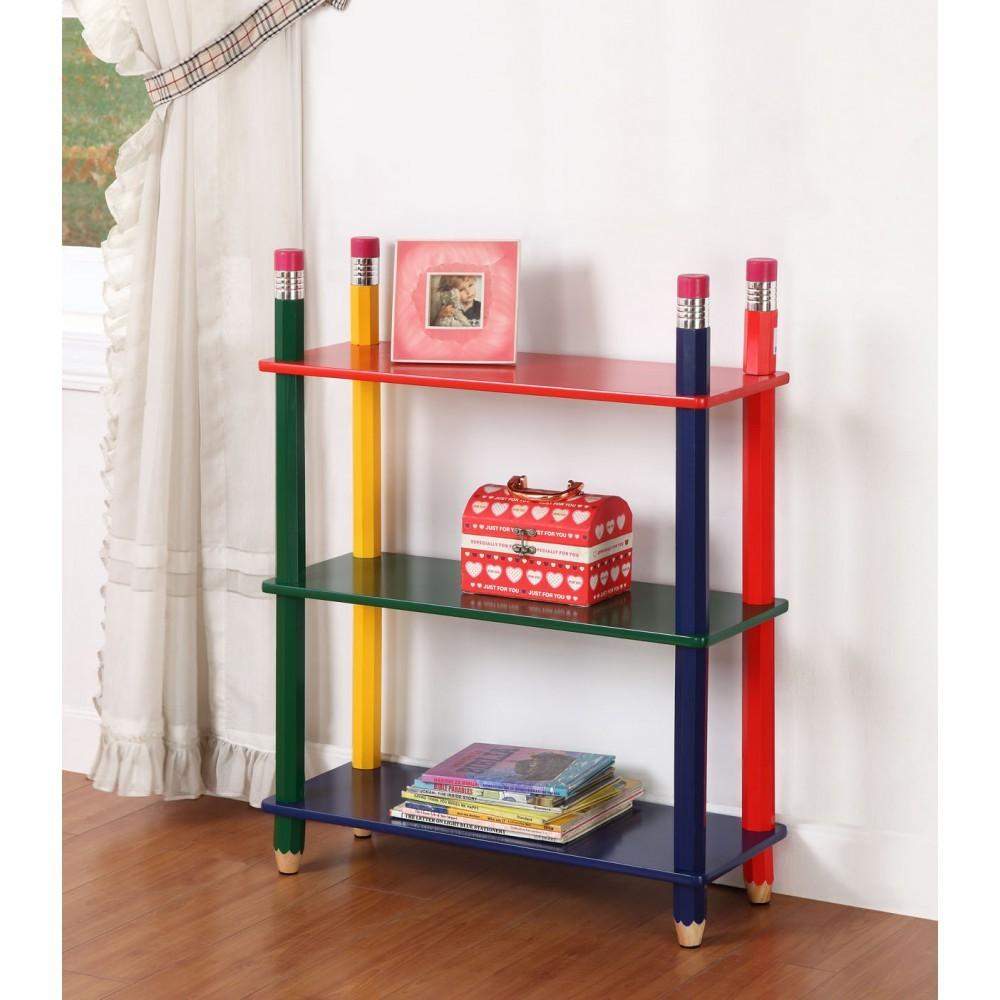 Kids Toys Storage Shelf Child Bookcase Organiser Playroom