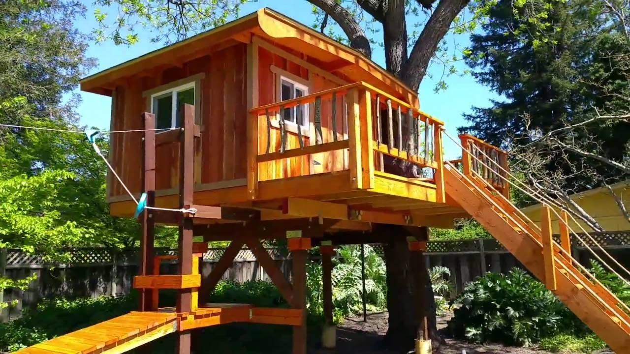 Kids Treehouses Treehouse Builders Northern California