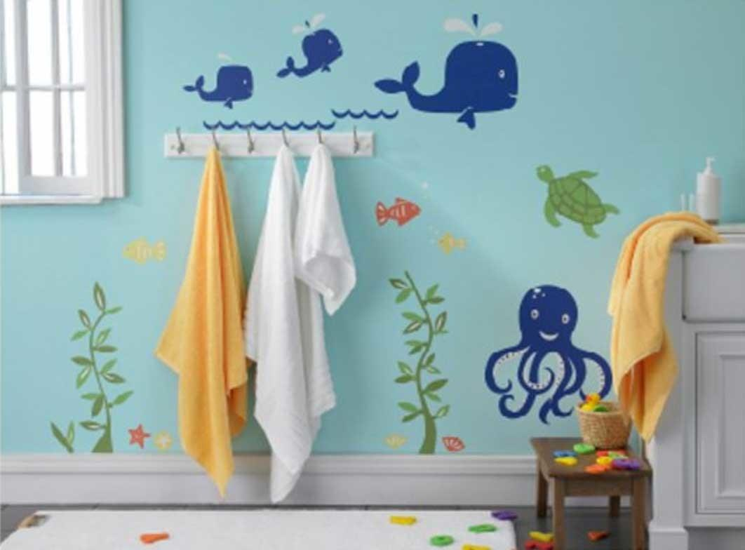 Kids Whale Bathroom Decor Ideas Stonerockery