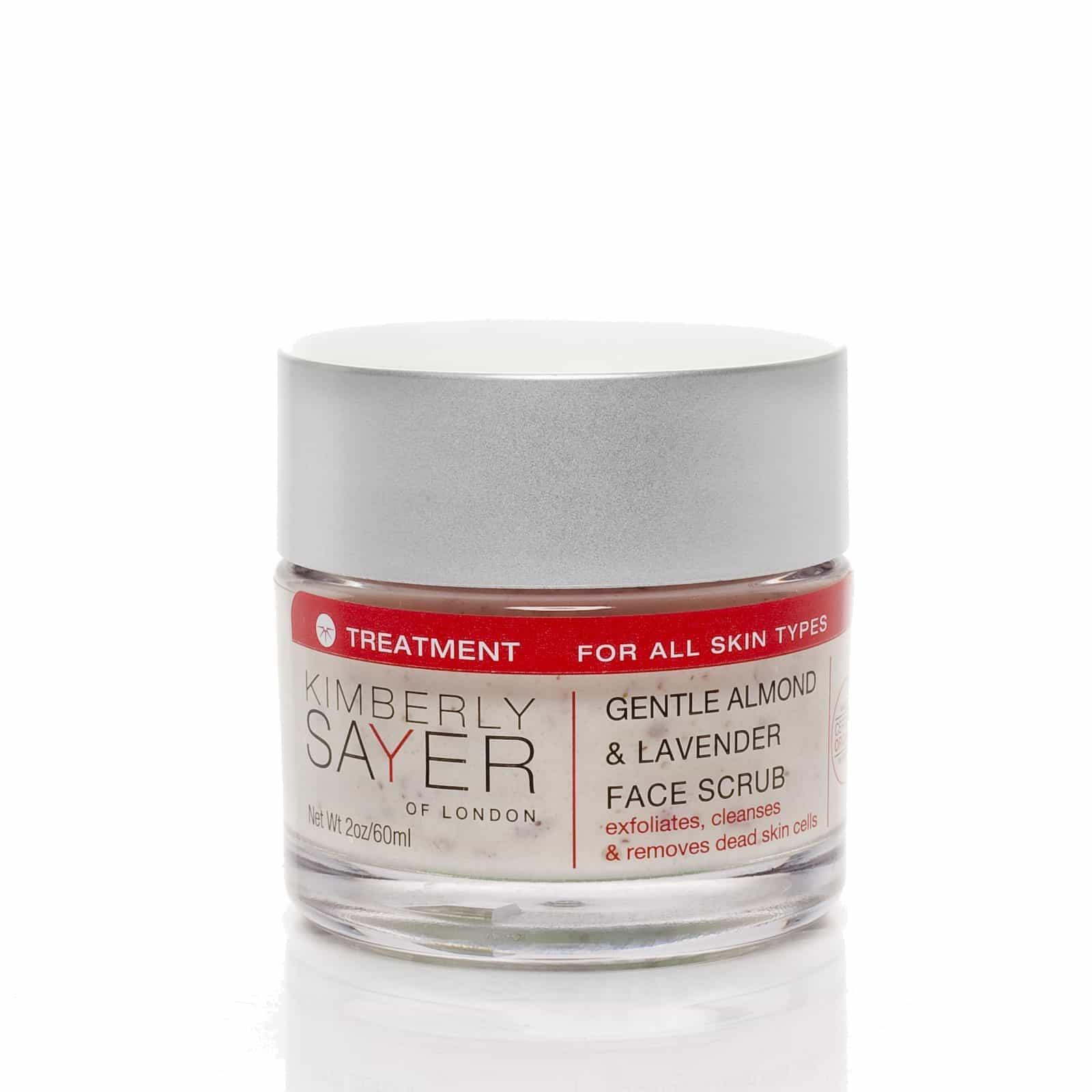 Kimberly Sayer Gentle Almond Lavender Face Scrub