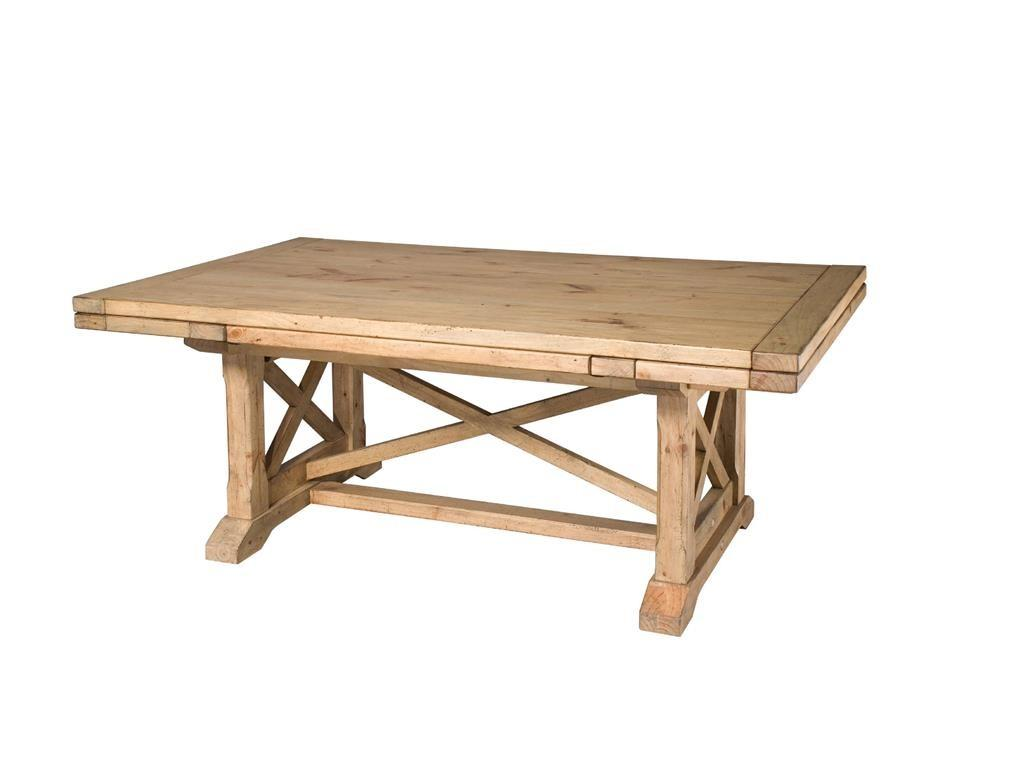 Kincaid Furniture Dining Room Refractory Trestle Table