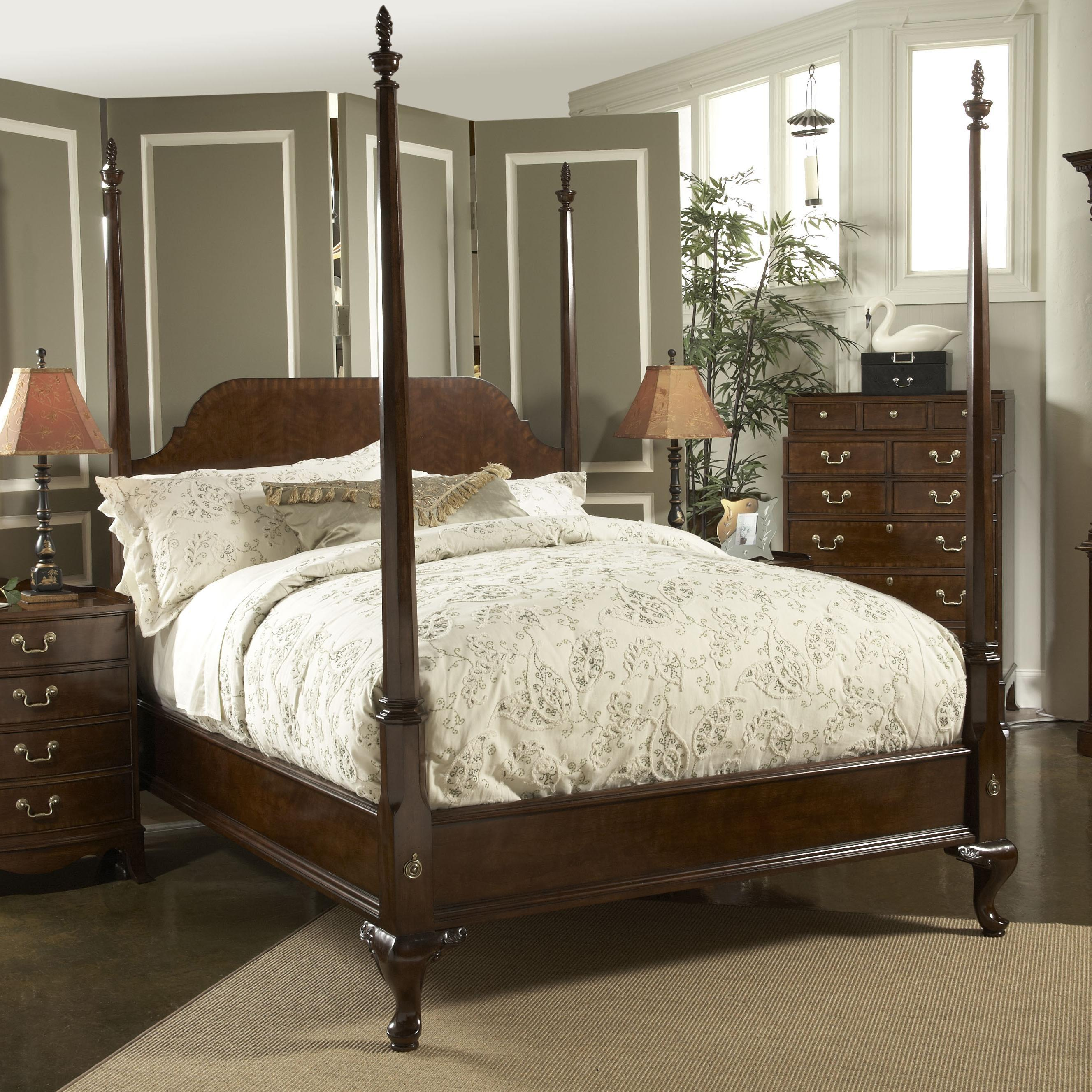 King Bridgeport Pencil Poster Bed Fine Furniture