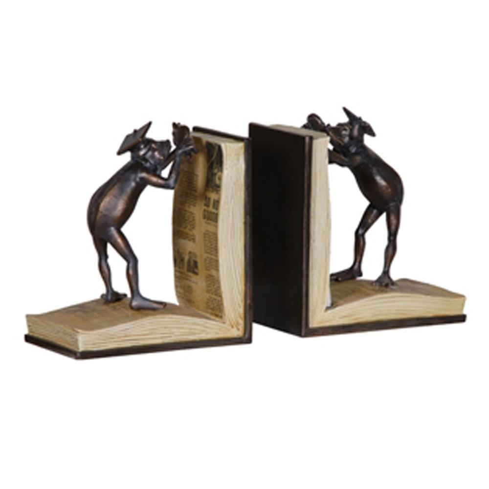 King Frog Bookends