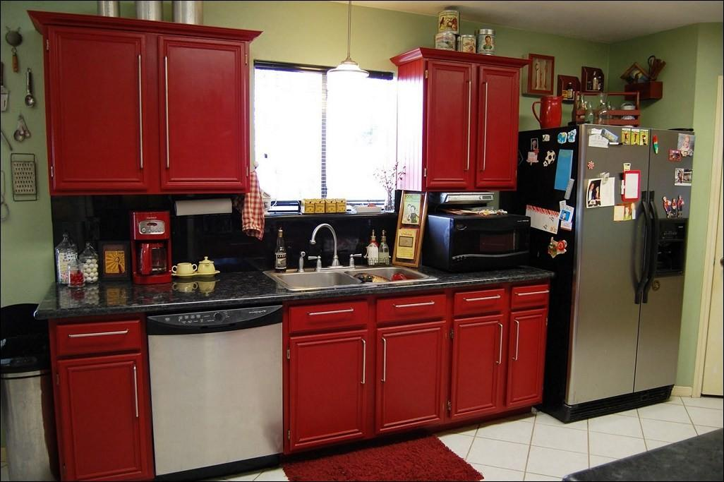 Kitchen Adorable Your Minimalist Red