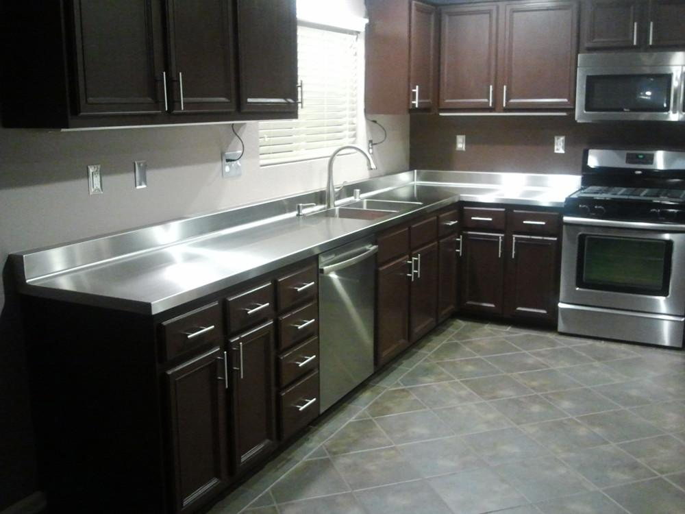 Kitchen Awesome Stainless Steel Countertops Nice