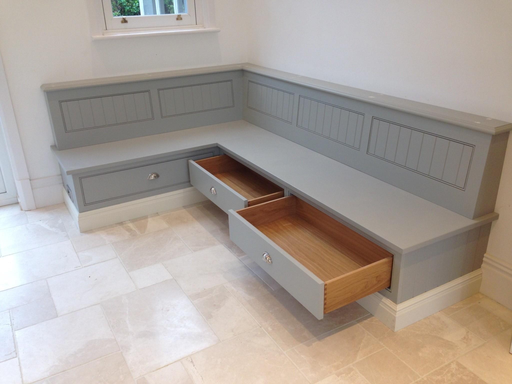 Kitchen Banquette Seating Storage