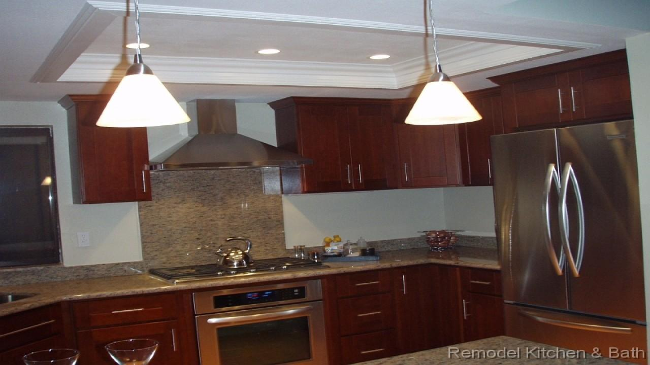 Kitchen Bath Remodel Recessed Ceiling Crown