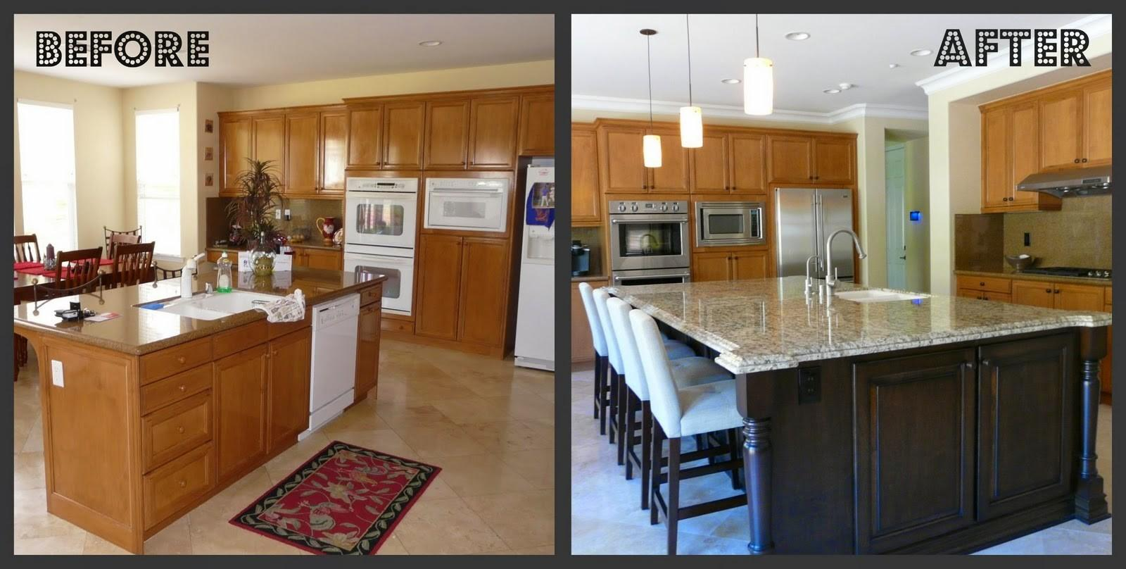 Kitchen Before After Remodeling Ideas