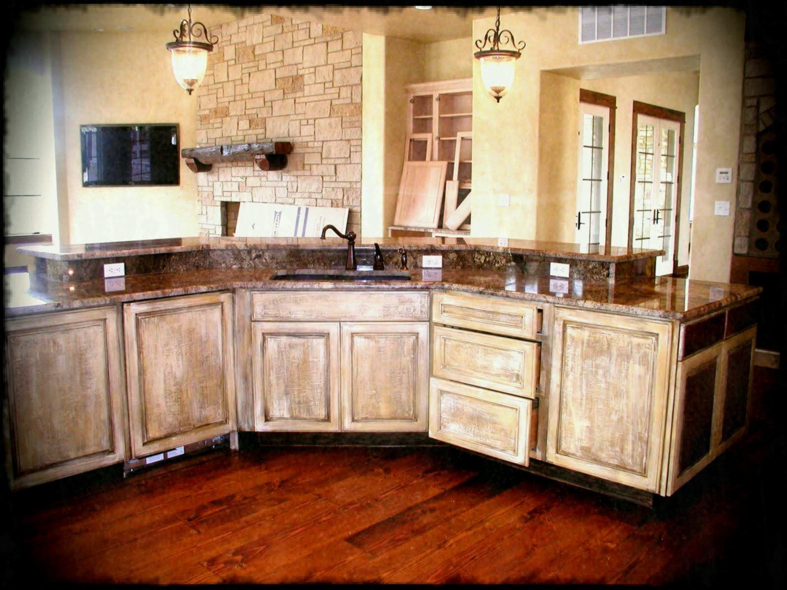 Kitchen Cabinet Design Hard Surface Countertop