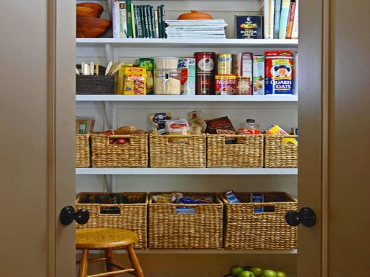 Kitchen Cabinet Organizing Ideas Pantries Small